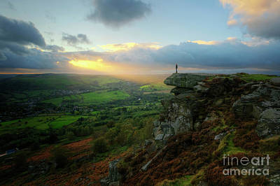 Photograph - Curbar Edge 4.0 by Yhun Suarez