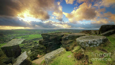 Photograph - Curbar Edge 6.0 by Yhun Suarez