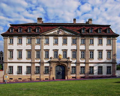Photograph - Curia St. Pauli Residential Palace by Anthony Dezenzio