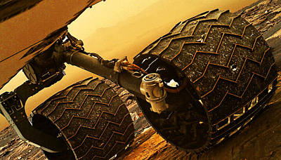Photograph - Curiosity Mars Rover by Weston Westmoreland