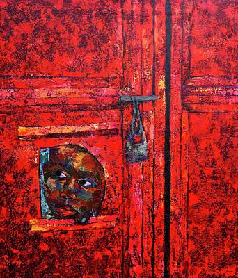 Painting - Curiosity   by Ronex Ahimbisibwe