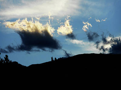 Photograph - Curious Clouds 4 by Ron Kandt
