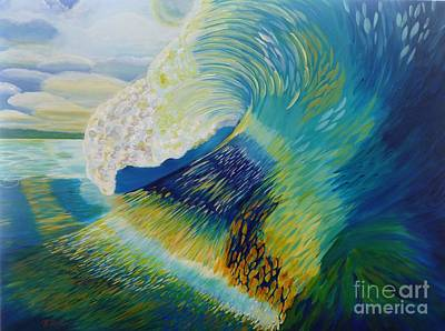 Painting - Curl by Jenn C Lindquist