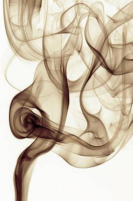 Curled Art Print