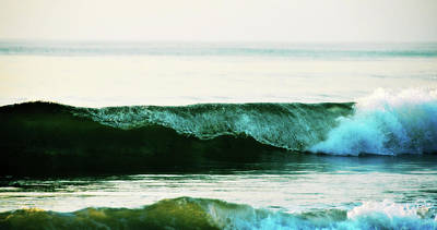 Photograph - Curling Surf by JAMART Photography