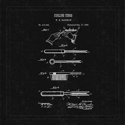 Travel - Curling Tong Patent 1899 by Andrew Fare