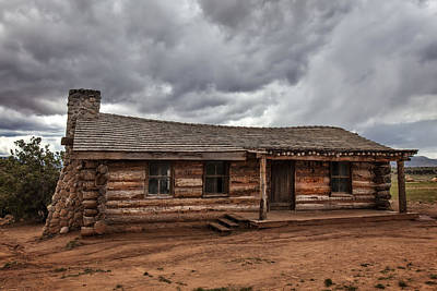 Keef Photograph - Curly's Cabin by Diana Powell