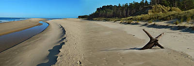 Photograph - Curracloe Beach Ireland by Arie Van der Wijst