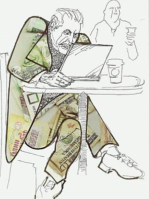 Profit Mixed Media - Currency Trader by Walter Clark