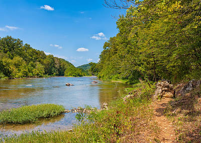 Photograph - Current River by John M Bailey
