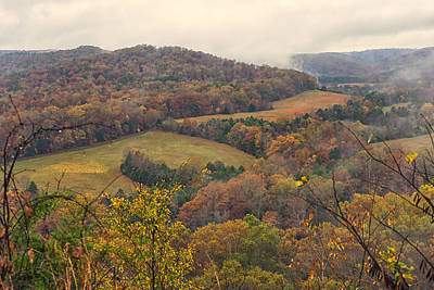 Photograph - Current River Valley Near Acers Ferry Mo Dsc09419 by Greg Kluempers