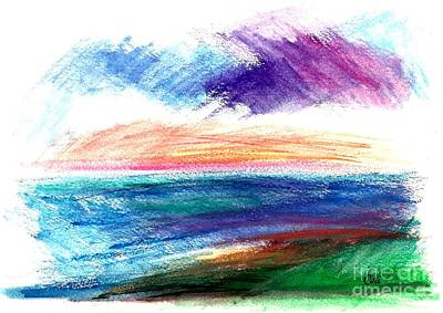 Painting - Currents by Corinne Carroll