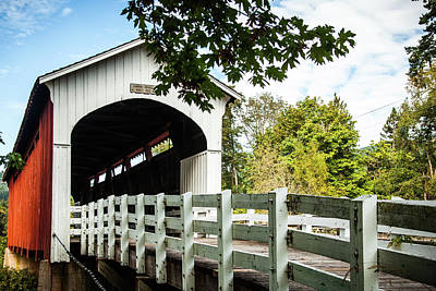 Photograph - Currin Bridge by Jim Adams