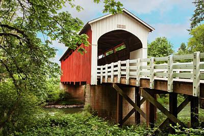 Photograph - Currin Bridge by Mary Jo Allen