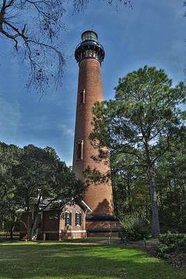 Photograph - Currituck Beach Lighthouse by Jimmy McDonald