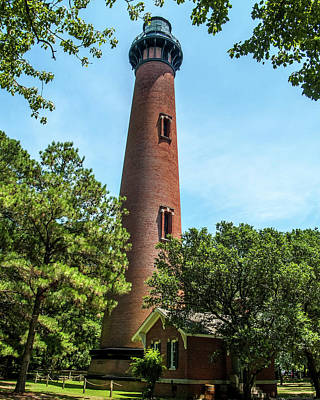 Photograph - Currituck Beach Lighthouse by Gordon Engebretson