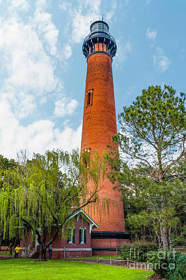 Photograph - Currituck Beach Lighthouse by Nick Zelinsky