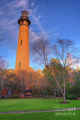 Photograph - Currituck Lighthouse In Winter Outer Banks by Dan Carmichael