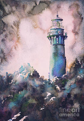 Painting - Currituck Lighthouse- North Carolina by Ryan Fox