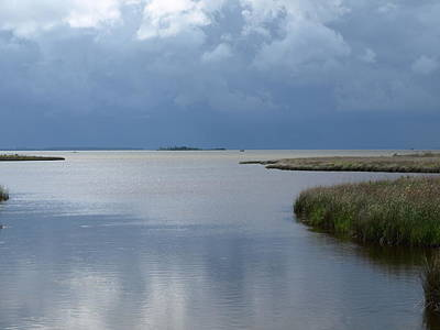 Photograph - Currituck Sound - 1 by Jeffrey Peterson