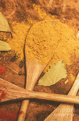 Curry Powder Spice Print by Jorgo Photography - Wall Art Gallery