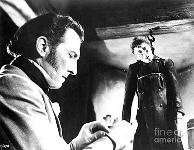 Photograph - Curse Of Frankenstein 1957 by R Muirhead Art