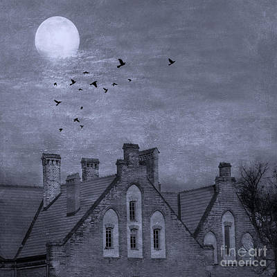 Curse Of Manor House Print by Juli Scalzi