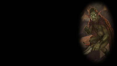 Bright Digital Art - Curse Of The Assassin by Maye Loeser