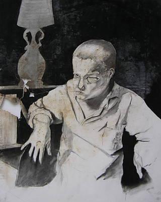 Brad Wilson Drawing - Curt by Brad Wilson