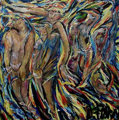 Painting - Curtain Call by Dawn Fisher
