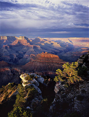 Grand Canyon Photograph - Curtain Call by Mike Buchheit