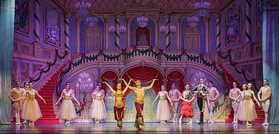 The Nutcracker Suite Photograph - Curtain Call by Ron Morecraft