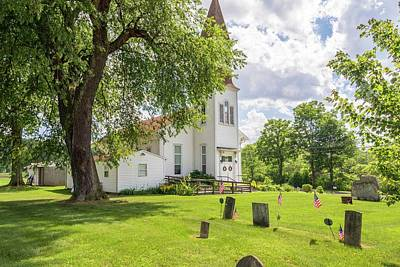 Photograph - Curtin United Methodist by R Thomas Berner
