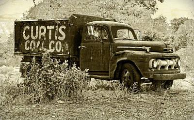 Photograph - Curtis Coal Sepia by David King