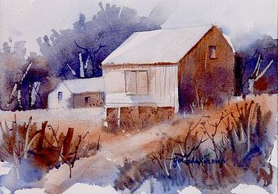 Curtis Farm In Ellicott City Art Print