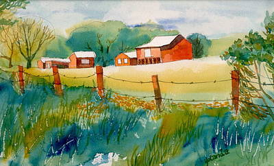 Curtis Farm In Summer Art Print