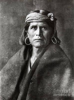Curtis:  Hopi Native American Art Print by Granger