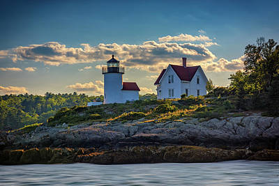 Curtis Island Lighthouse Art Print