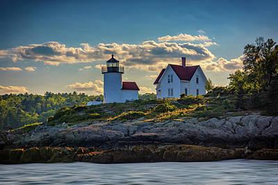 Photograph - Curtis Island Lighthouse by Rick Berk