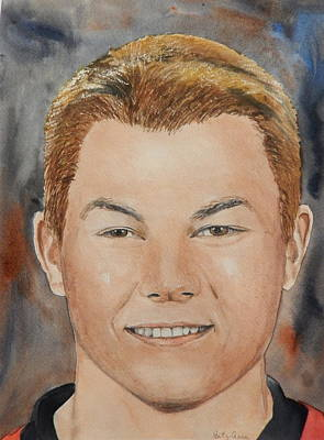 Painting - Curtis Lazar by Betty-Anne McDonald