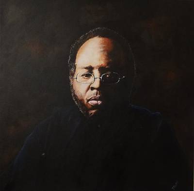 Painting - Curtis Mayfield by Pascal Martos
