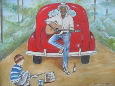Ballard Painting - Curtis Slow by Joe Sanders