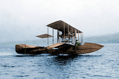 Photograph - Curtiss Flying Fish 1912 by Science Source