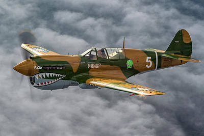 Photograph - Curtiss P-40 Warhawk by Jay Beckman