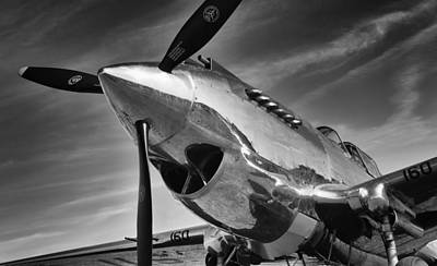 Photograph - Curtiss P-40c Warhawk by Ian Merton