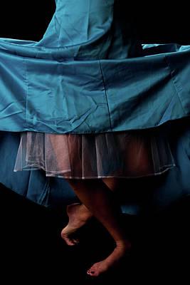 Bare Legs Photograph - Curtsy by Scott Sawyer