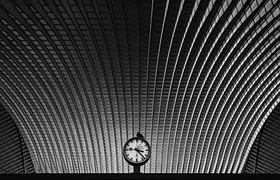 Clocks Photograph - Curvature Of Spacetime by Rainer Inderst