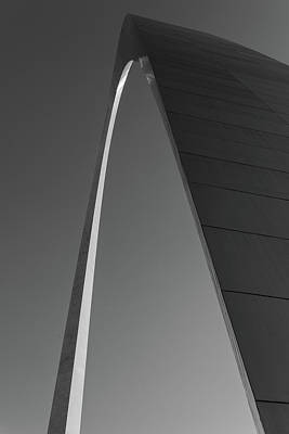 St. Louis Arch Wall Art - Photograph - Curved Line by Hyuntae Kim