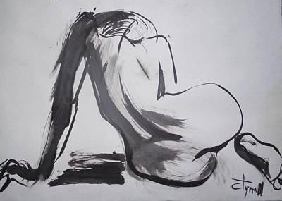 Curves 26 - Female Nude Original