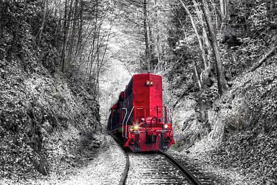 Photograph - Curves Ahead Big Red by Debra and Dave Vanderlaan
